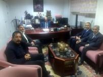 EMIN YıLMAZ - Prof. Dr. Mehmet Emin Yılmaz'a Teşekkür Ziyareti