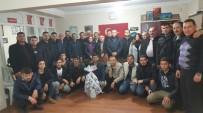 MEHMET AKıN - Salihli'de MHP'nin Eski Yönetiminden Yeni Yönetime Ziyaret