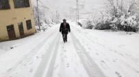 MILLI EĞITIM MÜDÜRLÜĞÜ - Sarıveliler İlçesinde Okullara Kar Tatili