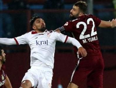 Trabzonspor'un yüzü kupada da gülmedi