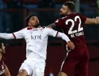 MUSTAFA YUMLU - Trabzonspor'un yüzü kupada da gülmedi