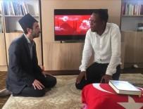 MÜSLÜMANLAR - Türkiye'den etkilenen Afrikalı genç İslamiyet'i seçti