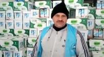 SINIR KAPISI - Türkmenlere Süt Dağıtılıyor
