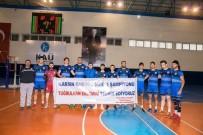 KAFKAS ÜNİVERSİTESİ - TVF 1. Ligde Karşılaşması Genç Kafkars Spor Açıklaması 3 Niksar Belediye Spor Açıklaması 2