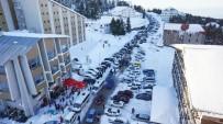 ULUDAĞ - Uludağ'da Trafik Çilesi Tarih Oluyor