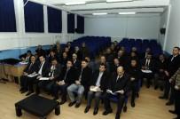 ENVER ÖZDERİN - Vali Çelik, İnönü İlçe Muhtarları Toplantısı'na Katıldı