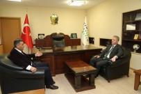 DAVUT GÜL - Vali Gül, ÇEDAŞ Genel Müdürü Akboğa'yı Ziyaret Etti
