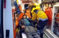 112 ACİL SERVİS - 100 Mil Açıkta Gemide Bıçaklanan Kaptanı Sahil Güvenlik Kurtardı