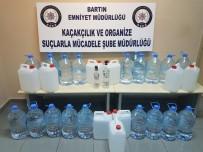 BARTIN EMNİYET MÜDÜRLÜĞÜ - Bartın'da Huzur Operasyonunda Sahte İçki Ele Geçirildi