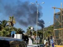 DALYAN - Çeşme'de Makilik Alanda Yangın Tedirginliği