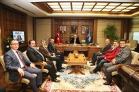 METİN ORAL - Çiçekçilerden Bursa Büyükşehir'e Ziyaret