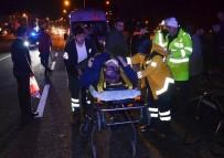 CELEP - Fatsa'da Trafik Kazaları Açıklaması 4 Yaralı