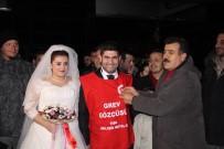 GREV - Gelin Damat Gelince Grev Yeri Düğün Yeri Oldu