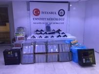 UYUŞTURUCU MADDE - ''Huzur Türkiye'' Uygulaması Kapsamında İstanbul'da Ele Geçirilen Malzemeler Sergilendi