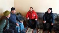 AHŞAP EV - Kızılay'dan Yangınzede Aileye Yardım