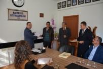 POLAT KARA - Kumluca'da Sürü Yönetimi Elemanları, Belgelerini Aldı