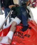 112 ACİL SERVİS - Samsun'da Silahlı Saldırı Açıklaması 3 Yaralı