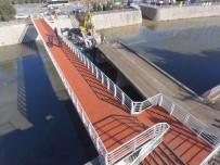 GEÇİŞ KÖPRÜSÜ - Sarıdere Yaya Köprüsü Tamamlandı