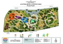 İÇMELER - Atatürk Bilim Ve Eğitim Parkı Çalışmaları Sürüyor