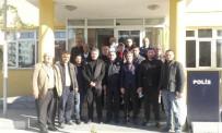 YUSUF ALEMDAR - Başkan Alemdar Serdivan İlçe Emniyet Müdürüne Taziye Ziyareti