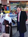 VEZIRHAN - Başkan Duymuş Halk Pazarında
