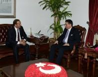 ERCAN TOPACA - Başkan Toltar'dan Topaca'ya Hayırlı Olsun Ziyareti
