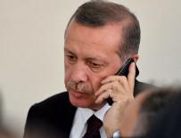 KATAR EMIRI - Cumhurbaşkanı Erdoğan'a liderlerden taziye telefonu