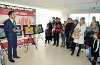 MEHMET YAŞAR - Minik Ressamlar Ödüllerini Aldı