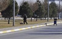 ŞÜPHELİ PAKET - Otobüsten inen kadın çantayı atıp kaçtı, ortalık karıştı!