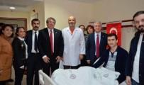 AÇIKÖĞRETİM FAKÜLTESİ - Rektör Gündoğan'dan 15 Temmuz Gazisine Geçmiş Olsun Ziyareti