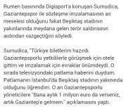 İSMAİL KARTAL - Rumen Teknik Adam Türkiye'ye Gelmekten Vazgeçti