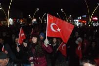 KANDIL GECESI - Tokat'ta Vatandaş Teröre Tepki Yürüyüşü Düzenledi