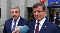 AHMET DAVUTOĞLU - Ahmet Davutoğlu'ndan İstanbul Emniyet Müdürlüğü'ne Taziye Ziyareti