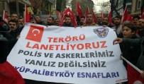 ALIBEYKÖY - Alibeyköy Esnafından Polislere Taziye Ziyareti