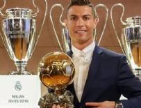 PORTEKIZ - FIFA Ballon d'Or 2016'nın sahibi Ronaldo.