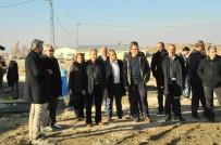 AKŞEHİR BELEDİYESİ - Başkan Akkaya, AK Parti Yönetim Kurulu Üyelerine Yatırımları Gezdirdi