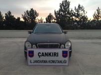 Çankırı'da Kaçak Araç Yakalandı