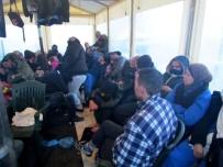 DALYAN - Çeşme'de 53 Sığınmacı Yakalandı