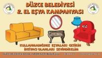 AYŞE KILIÇ - Düzce Belediyesi'nden İkinci El Kampanyası