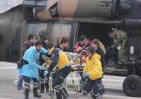 YARALI ASKERLER - El Bab'ta yaralanan 2 asker Gaziantep'e getirildi