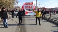 Erzincanlılar Dan Teröre Lanet Yürüyüşü