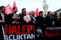MEMUR SEN - Halep'te Katledilen Siviller İçin Gıyabi Cenaze Namazı