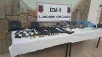 SİLAH TİCARETİ - İzmir'de Jandarmadan Uyuşturucu Operasyonu