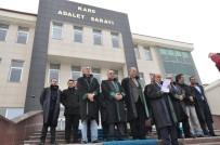 ADLIYE SARAYı - Kars Ardahan Bölge Barosu  Hain Saldırıyı Kınadı