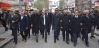 Kırıkkale'de Teröre Tepki, Polise Destek Mitingi