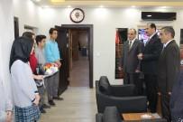 Milli Eğitim'den İl Emniyet Müdürlüğüne Taziye Ziyareti