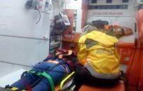 POLİS ARACI - Polis Aracı Yaya Kadına Çarptı