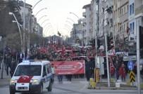 Seydişehir'de 'Şehitler Yürüyüşü' Düzenlendi