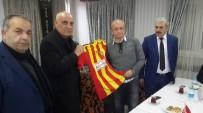 LEVENT ÖZÇELIK - Ünlü Spiker Levent Özçelik Malatyaspor Basınıyla Buluştu