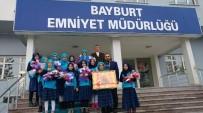 15 Temmuz İmam Hatip Ortaokulu'ndan, Emniyete Ziyaret